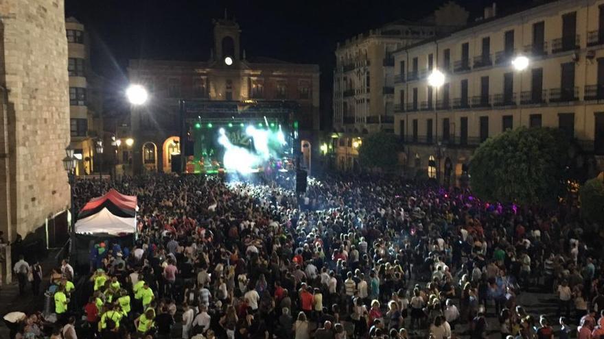 Programa de conciertos de las fiestas de San Pedro 2019 en Zamora