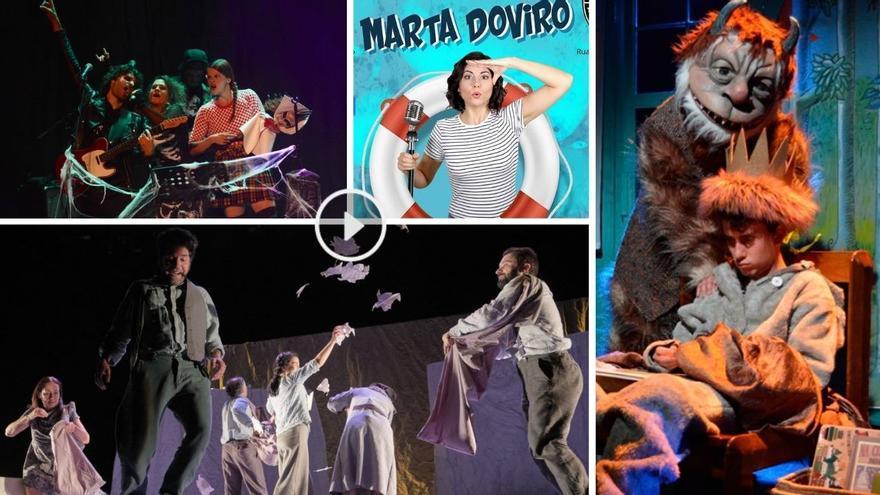 Música, risas o teatro infantil llenan la agenda del fin de semana en Vigo