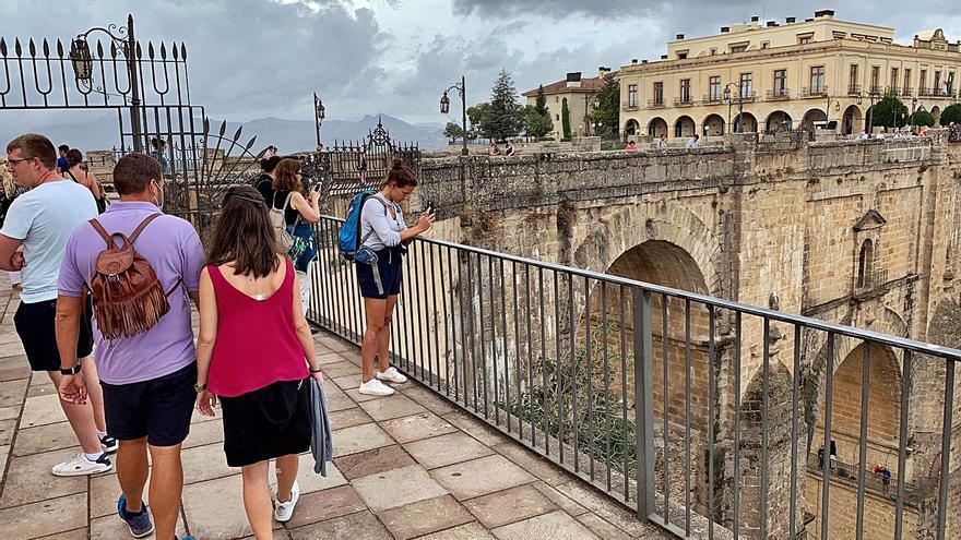Ronda celebra la vuelta del turismo tras los meses más duros de la pandemia