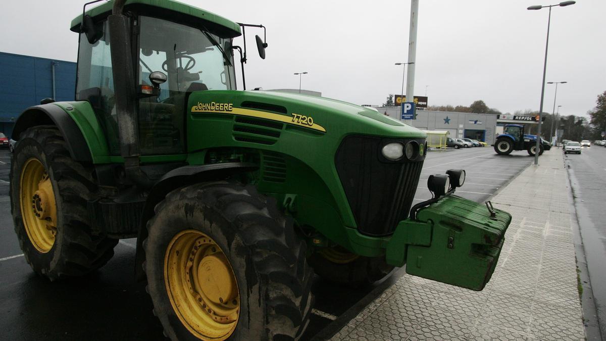 Un tractor en una imagen de archivo.