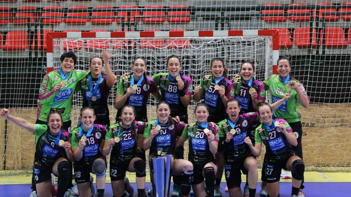 El Rincón Fertilidad ganó la EHF European Cup.