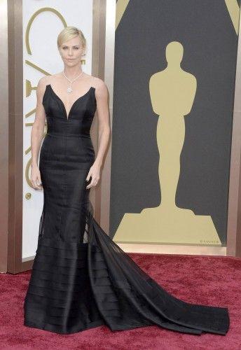 La actriz Charlize Theron.