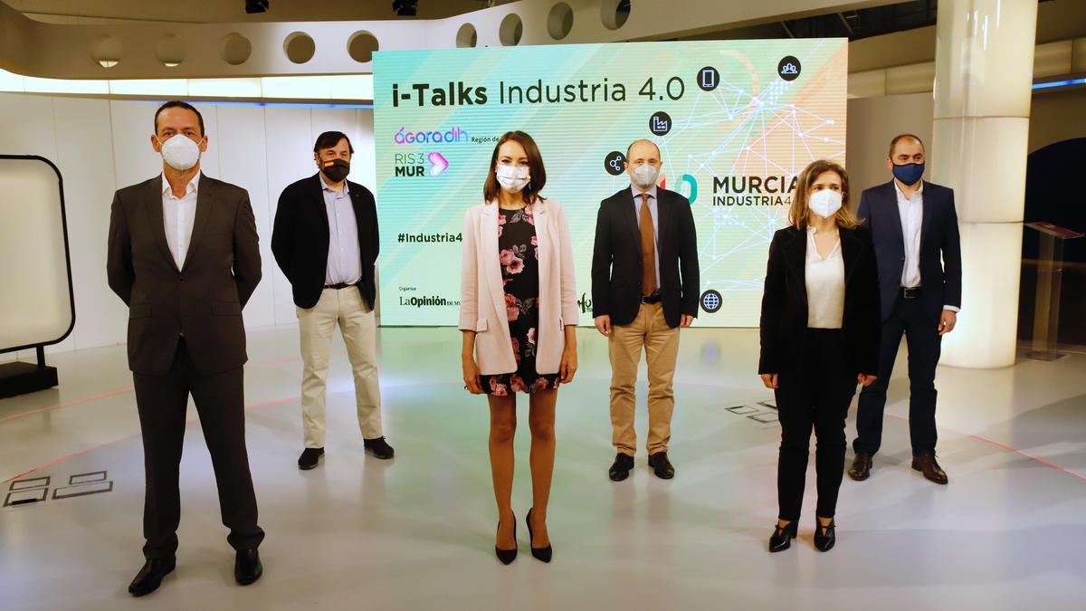 Las caras de i-Talks Industria 4.0