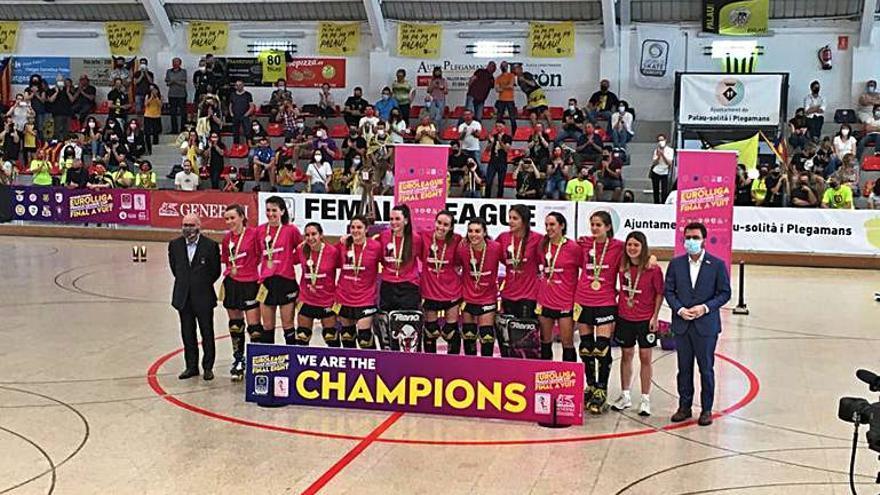 L'HC Palau guanya la Champions