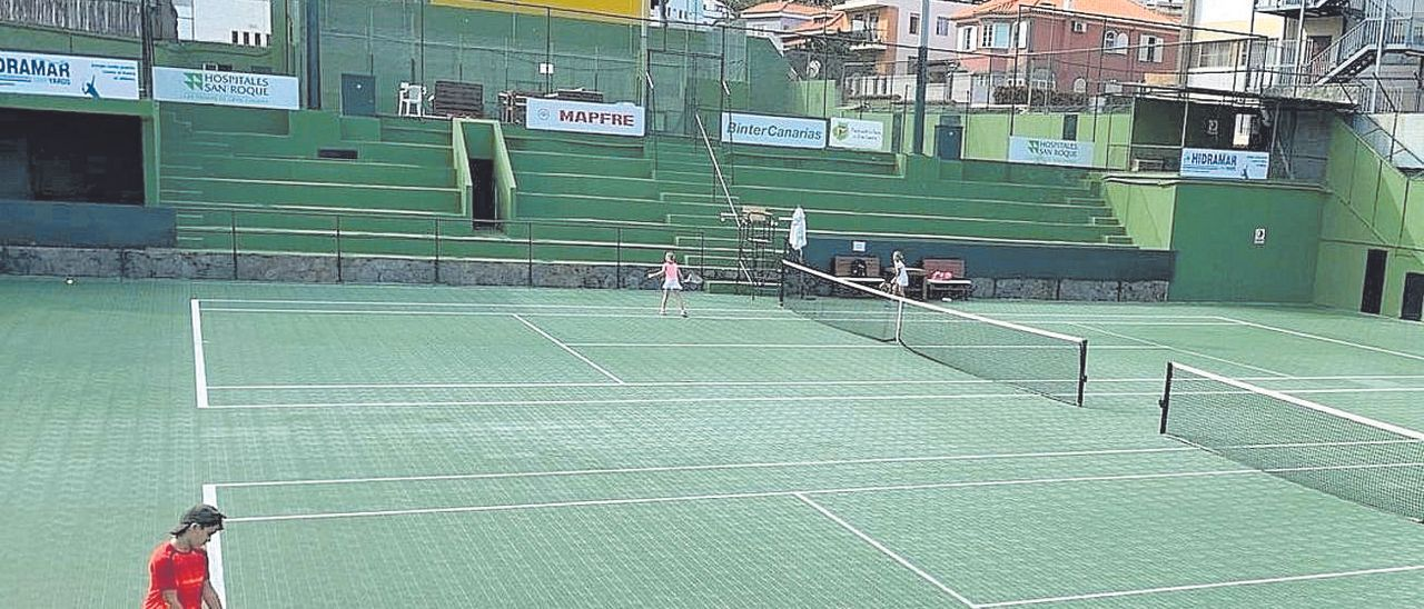 El Real Club de Tenis de Gran Canaria