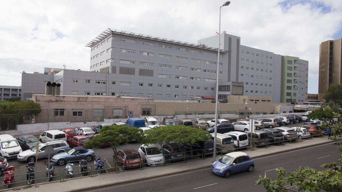 Exterior del Hospital Universitario Nuestra Señora de Candelaria.