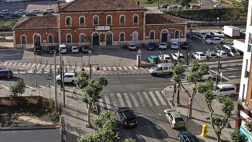 La integración urbanística de 4.000 m2 en el acceso a Renfe de Alcoy arranca este mes