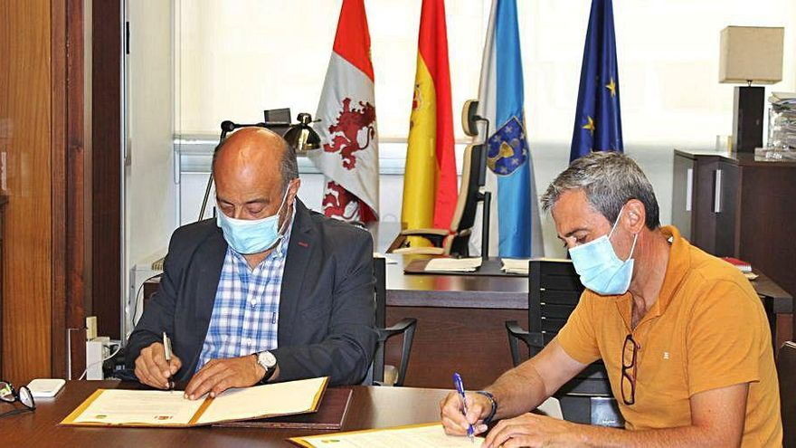 La Confederación Miño-Sil acondicionará la ruta de los molinos del río Formigueiro
