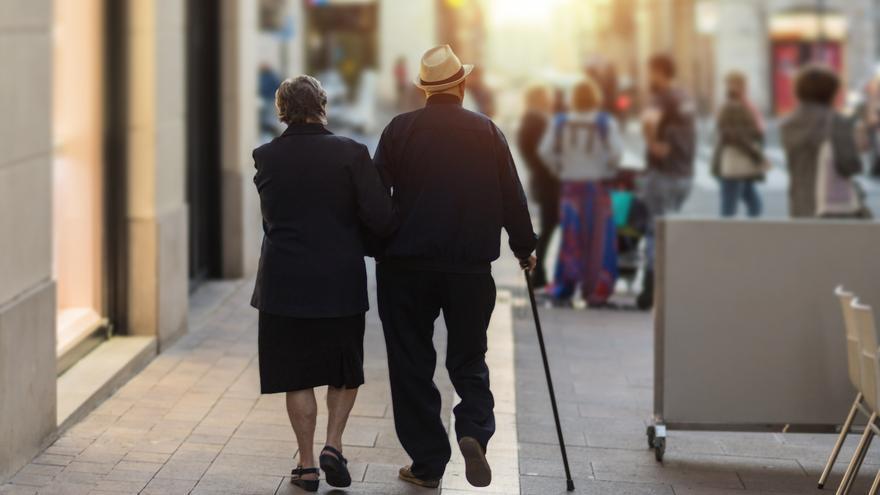 La pensión media de jubilación sube a 1.377 euros