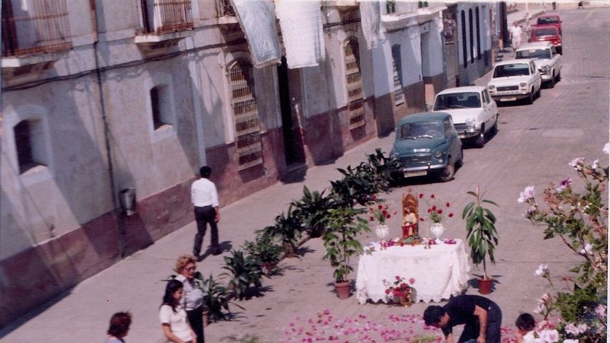 Corpus Christi en San Vicente de Alcántara, imágenes históricas.