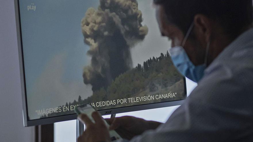 Mariano Hernández Zapata: «Una vez pase el volcán, si puede ser un foco turístico habrá que aprovecharlo»