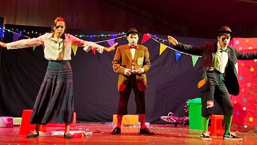 """Nigrán arranca hoxe          o """"Mes do Teatro"""""""