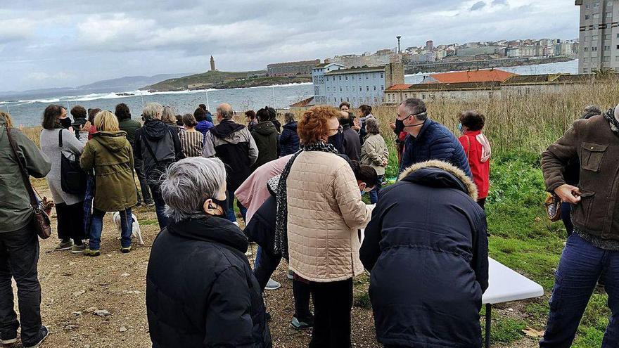 Un total de 250 vecinos presentan alegaciones al proyecto de As Percebeiras