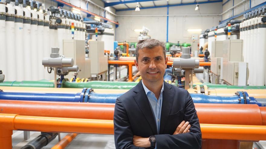 Juan Carlos González, nuevo director general de Elmasa