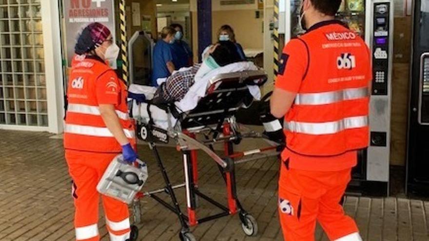 El 061 interviene en 46 accidentes de tráfico en Málaga durante la operación salida