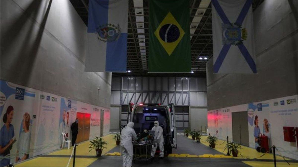 Brasil registra más de 23.400 contagios en una jornada
