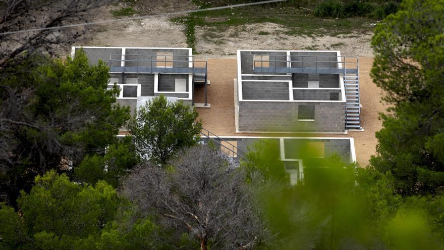 """Denuncian la construcción de un poblado para """"combates"""" del Ejército en una área natural de Mallorca"""