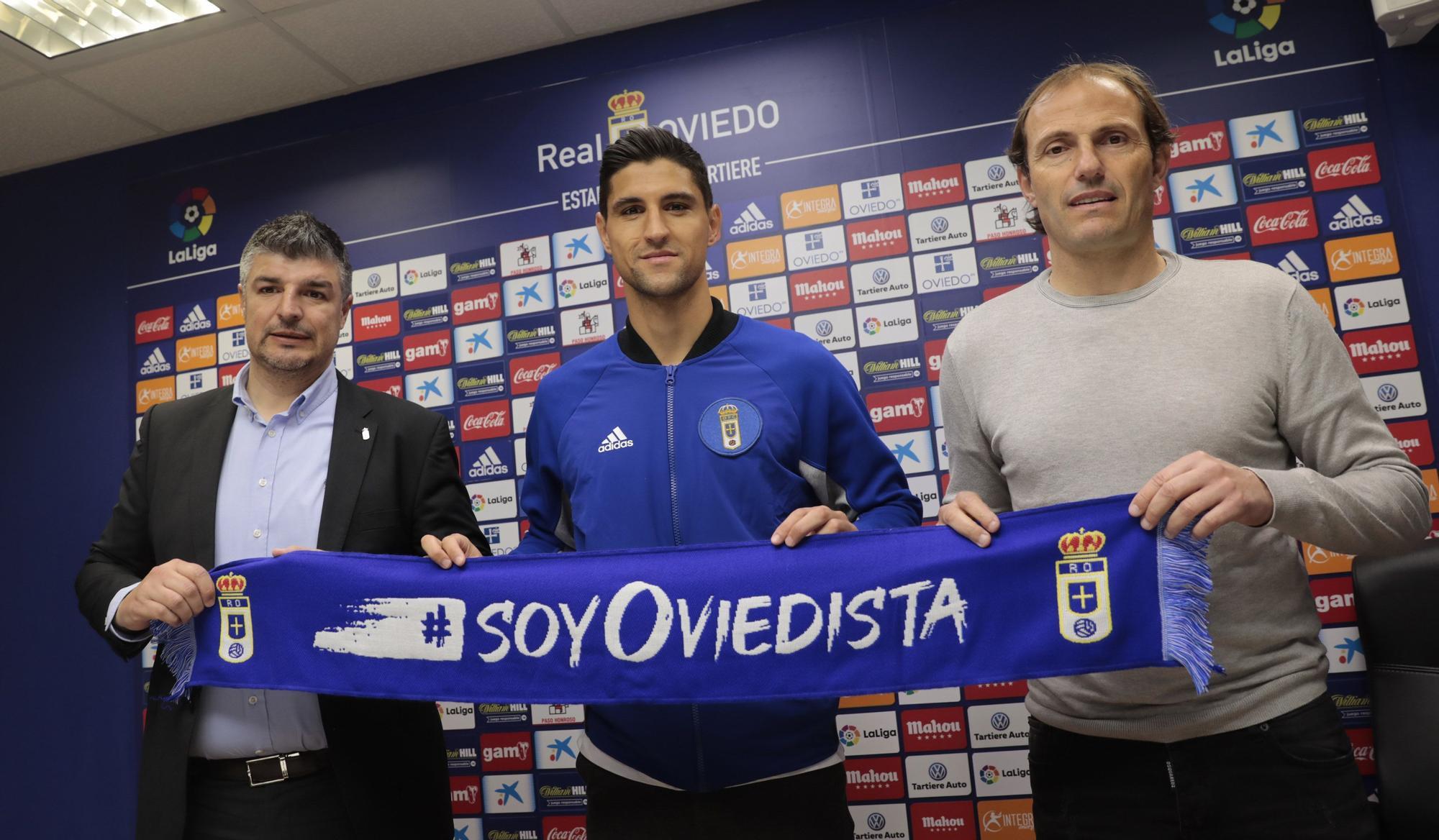 Fracnces Arnau: del terreno de juego a director deportivo del Real Oviedo