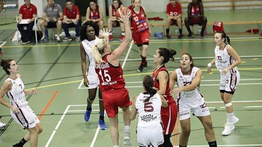 El líder, Celta Zorka, mide el estado de forma del Basket Mar