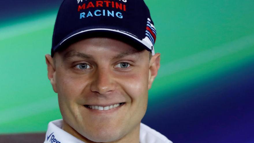 Bottas ficha por Mercedes para sustituir a Rosberg