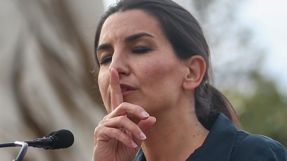 La candidata de Vox en Madrid, Rocío Monasterio.