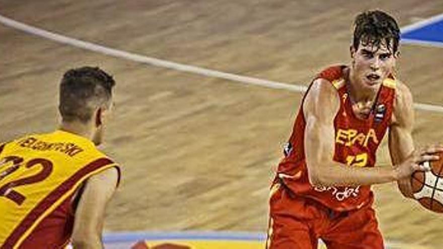 El manresà Toni Naspler, el millor d'Espanya en el debut