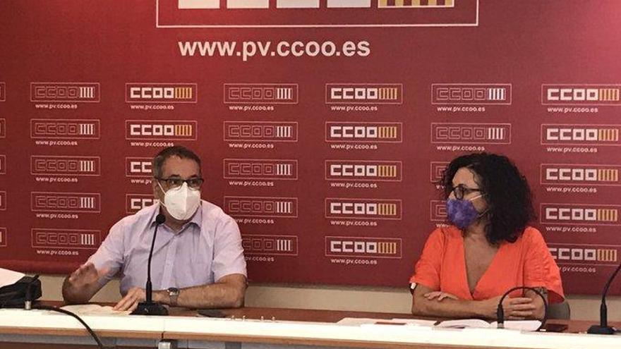 CC OO reclama atención emocional a profesores y alumnos durante el curso covid