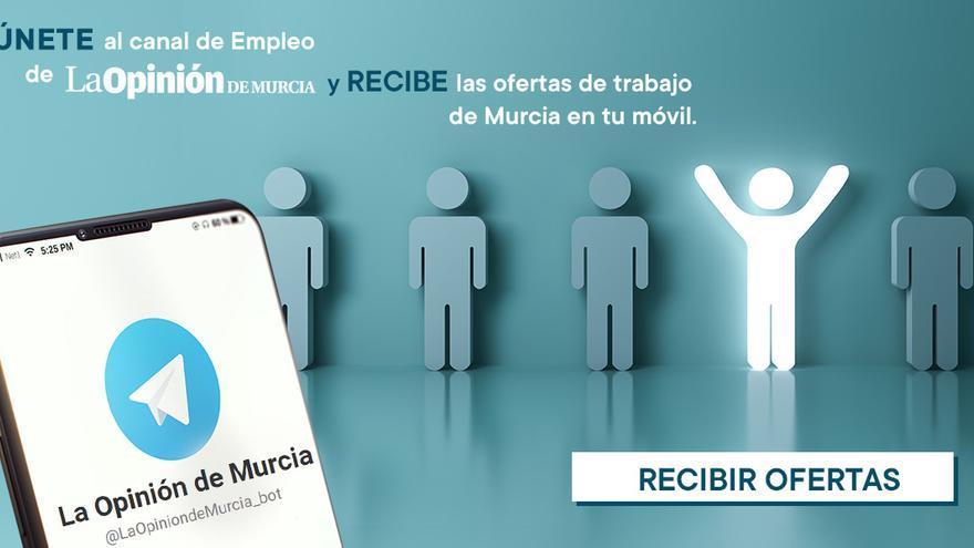 La Opinión de Murcia lanza un canal de Telegram para recibir las ofertas de empleo en tu móvil