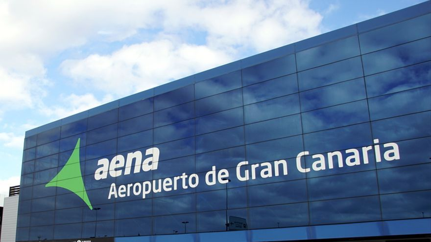 La huelga del personal de tierra  de Gando afecta este miércoles a 66 vuelos
