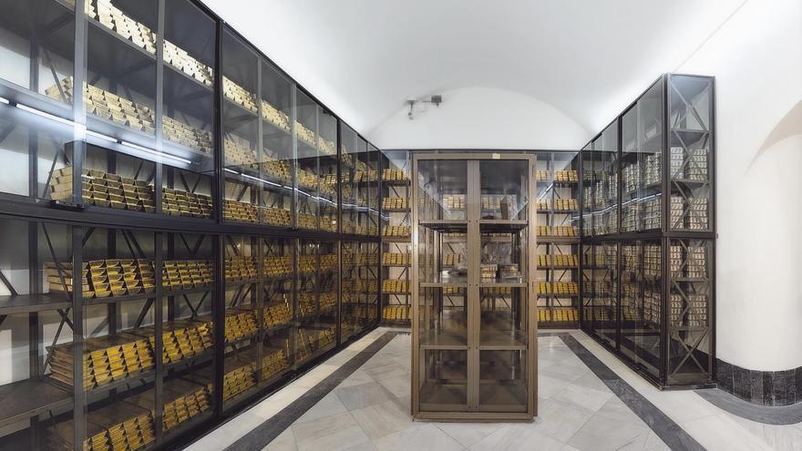 El Banco de España tiene nueve millones de onzas de oro valoradas en 13.978 millones de euros