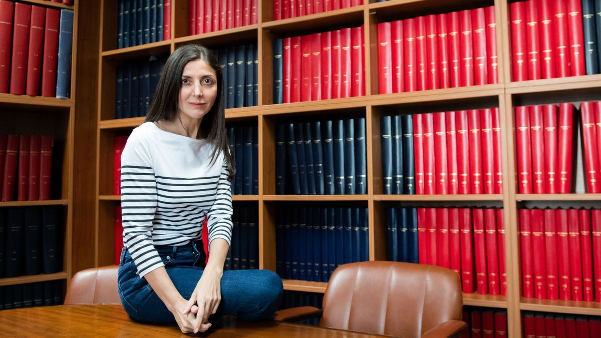 Espido Freire visitó la redacción de 'Mediterráneo' para hablar de su último libro y de su presencia en Benicàssim.