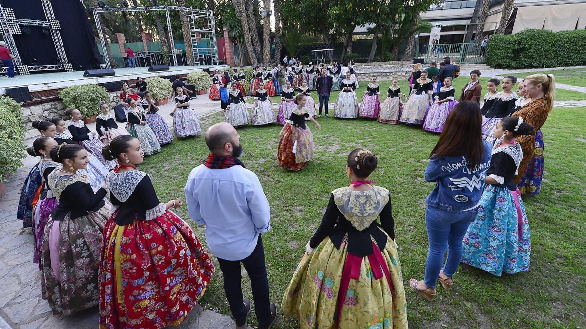 Imágenes de archivo de actos y conciertos celebrados en la Rotonda del Parque Municipal.