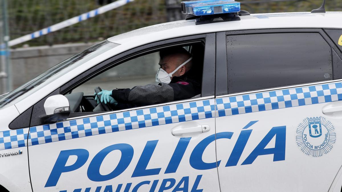 Imagen de recurso de una patrulla de Policía Municipal de Madrid.