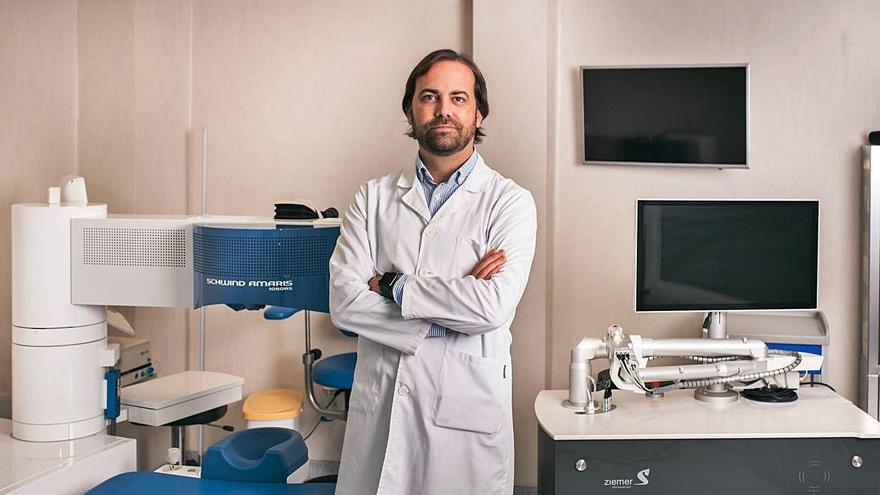 «Tenemos el láser para cirugía refractiva más rápido del mercado»