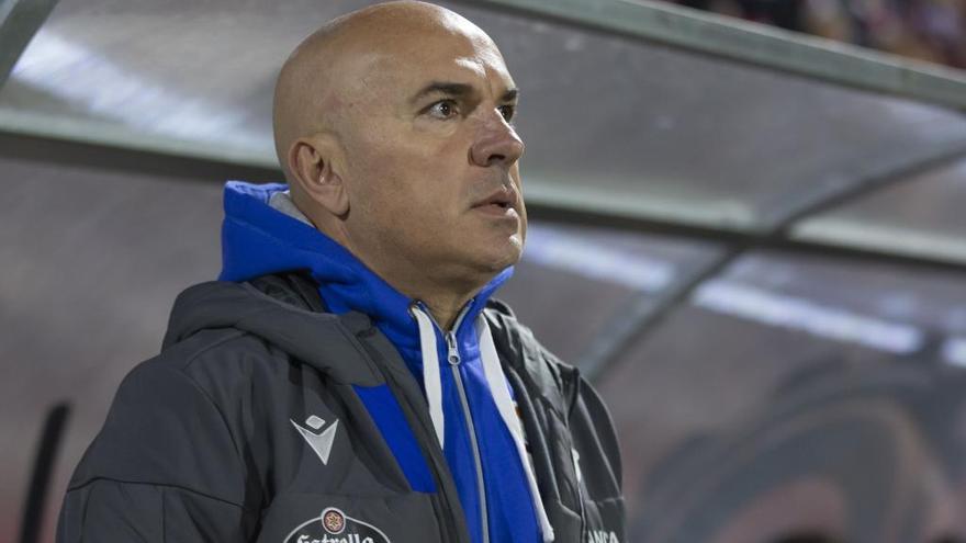 Luis César, destituido como entrenador del Dépor