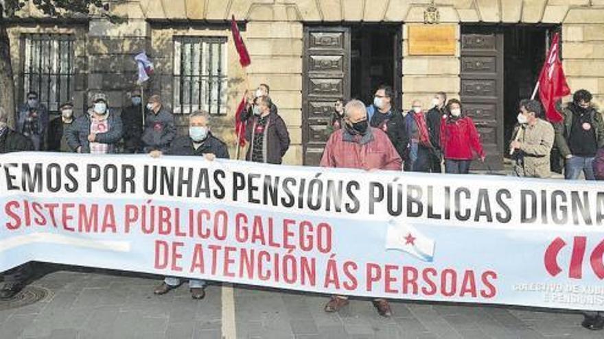 """La CIG vuelve a la movilización para pedir """"pensiones dignas"""""""