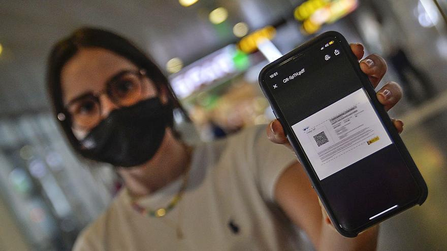 La operación salida de las Islas se queda a un 22% de la prepandemia