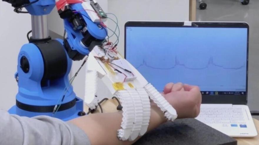 Robots sensibles como auxiliares de salud