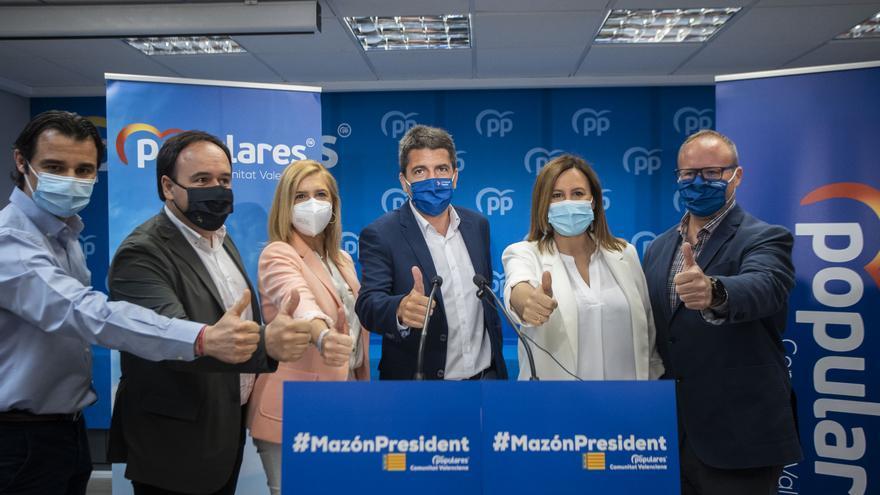 Carlos Mazón se lanza a la conquista de València con la vista puesta en el Palau