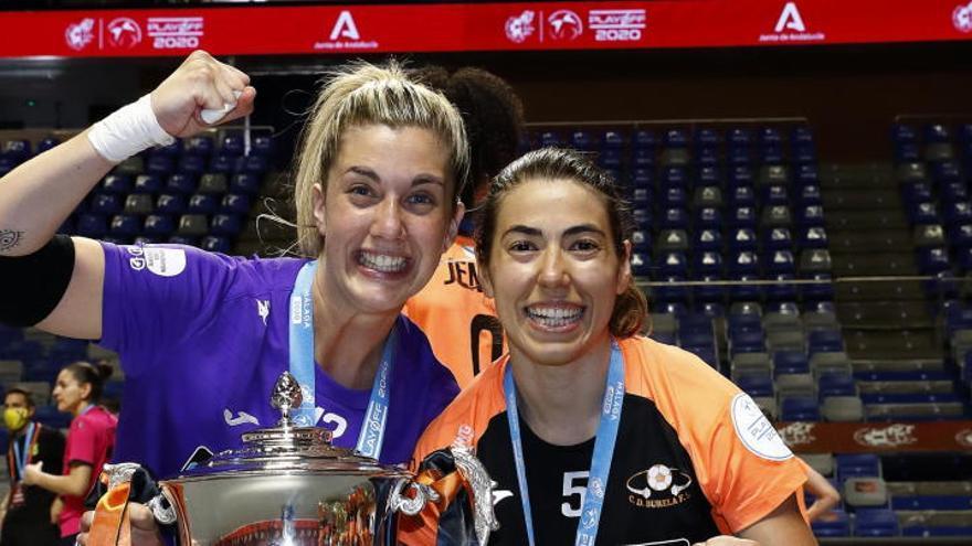 Dos murcianas, campeonas de liga con el Burela