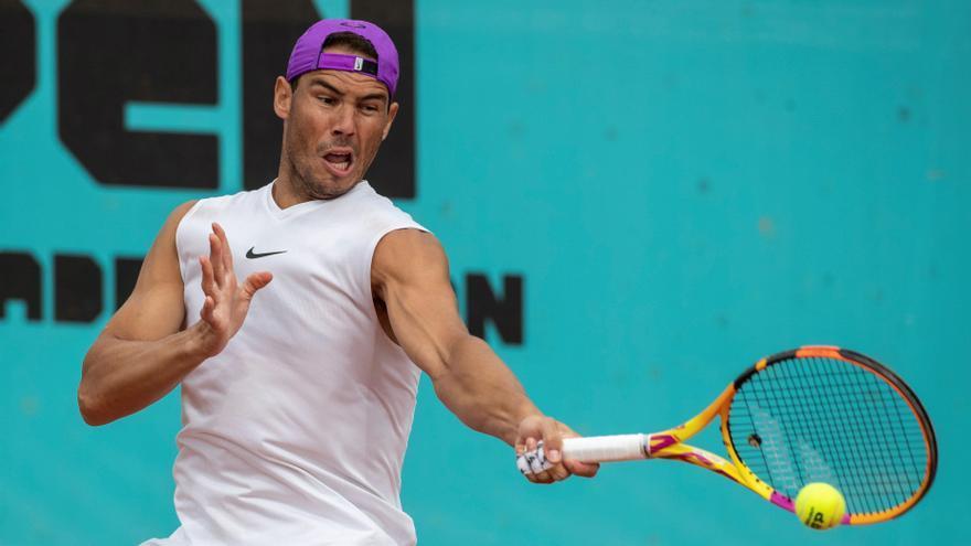 Nadal debuta en Madrid ante Alcaraz en un duelo generacional
