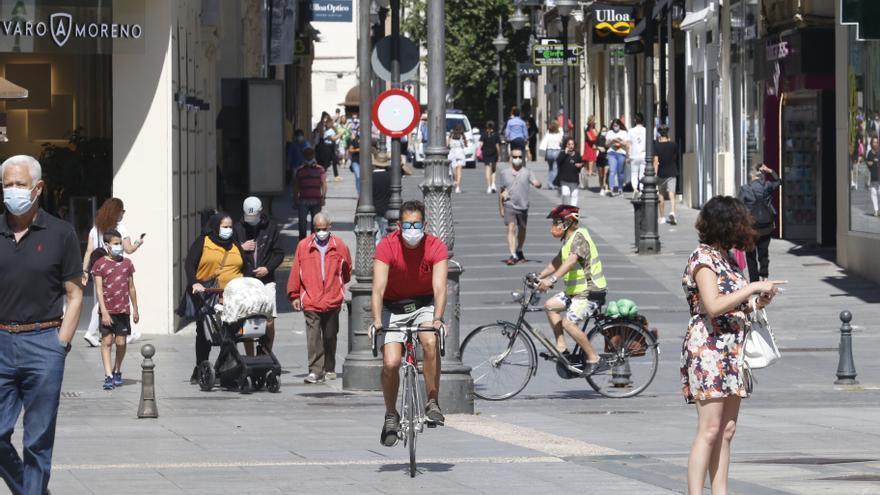 La plataforma Carril Bici exige la anulación de las multas por circular por zonas con preferencia peatonal
