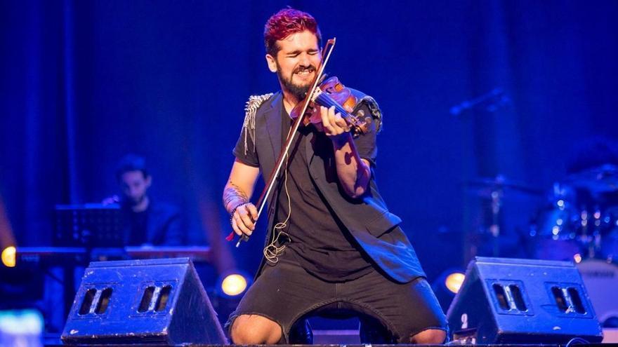 Strad, el violinista rebelde asalta el Trui Teatre