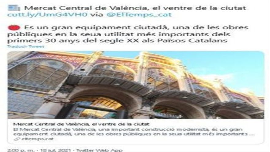 Los països catalans se le cuelan a la Generalitat