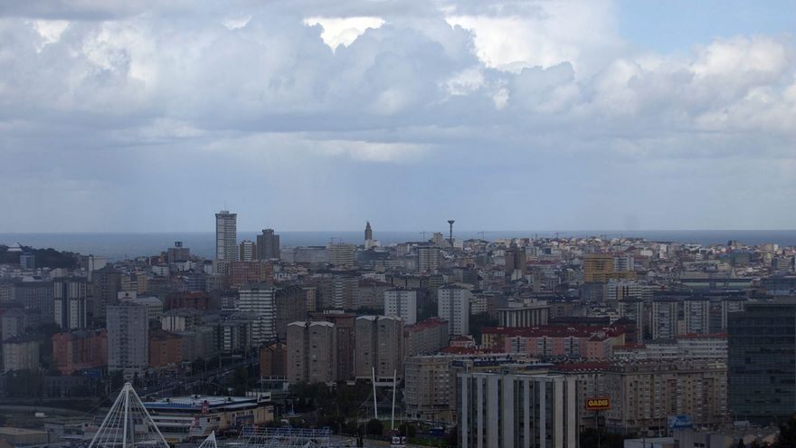 La lluvia dará una tregua en A Coruña hasta el domingo