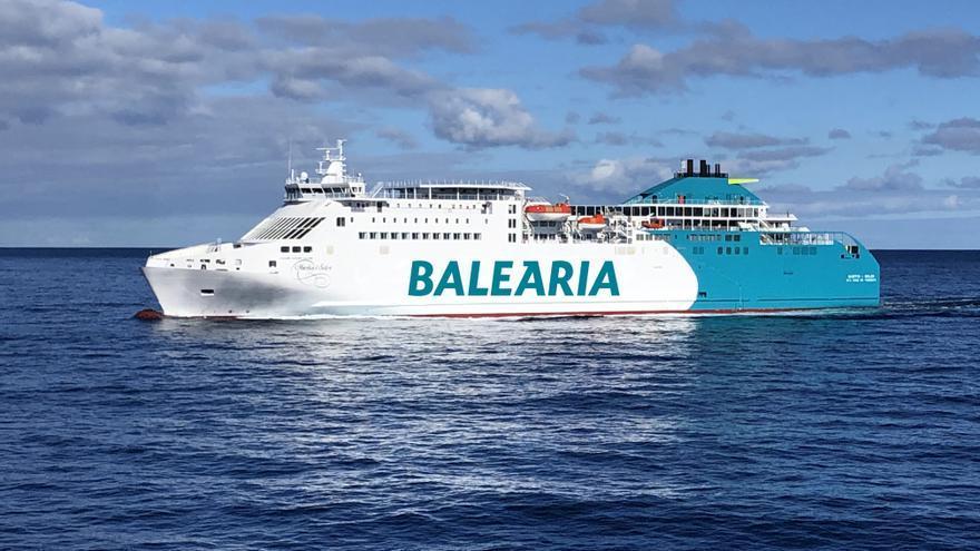 Baleària incorpora a la ruta entre Barcelona y Ibiza su octavo buque a gas natural
