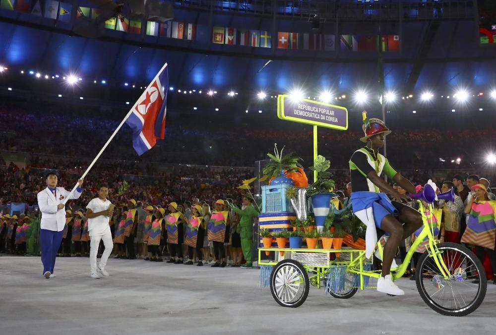 La ceremonia de inauguración de las Olimpiadas recreó el Brasil indígena, las diferentes culturas y las grandes urbes.