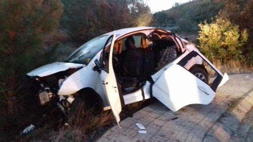 Detenido un menor que conducía bebido por provocar un accidente en Gerona