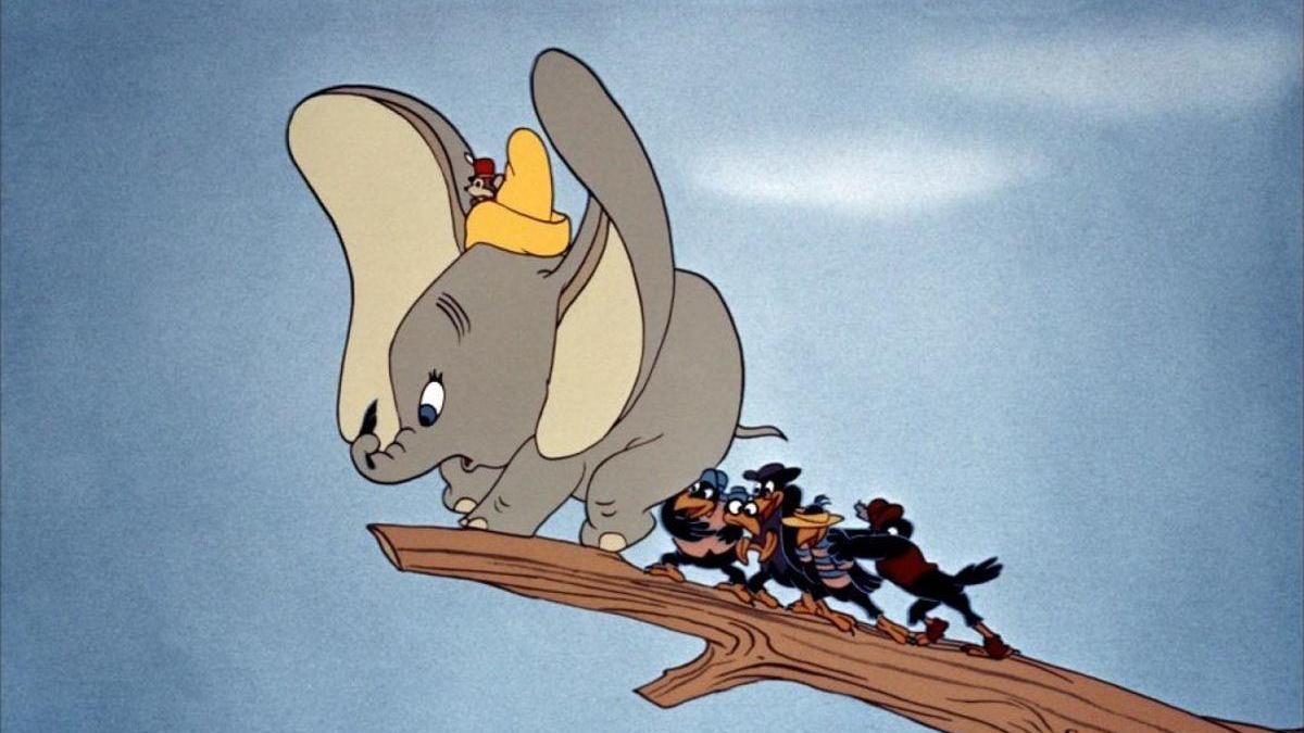 Una escena de 'Dumbo'.