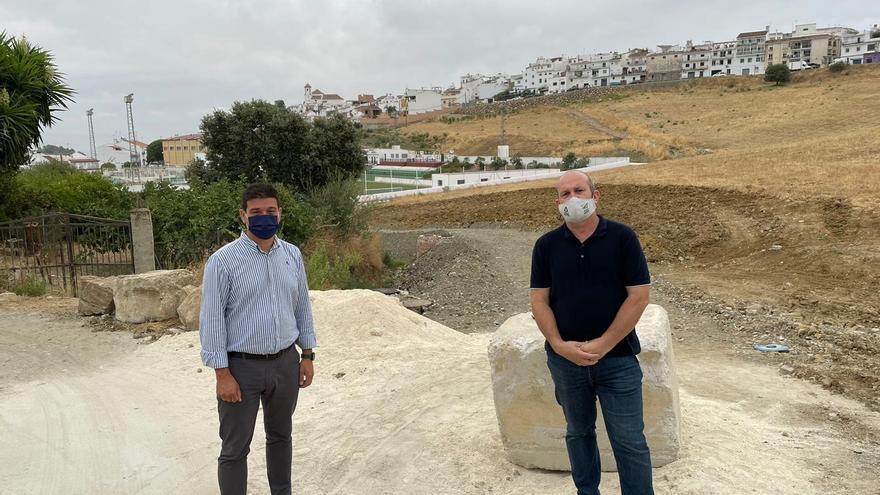 La Diputación destinará 80.000 euros a la reurbanización de dos vías en Alozaina